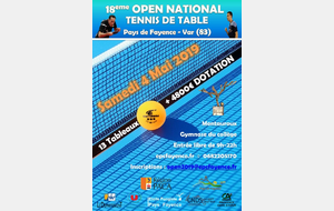 18EME OPEN NATIONAL